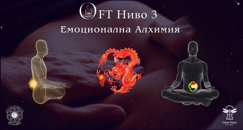 OFT ниво 3 - Алхимия на емоциите